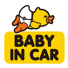 Wholesale Big Yellow Duck Stickers Lighted Car Emblem