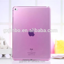 Transparent plastic protective back cover accept custom soft case for ipad 9.7 10.5 12.9
