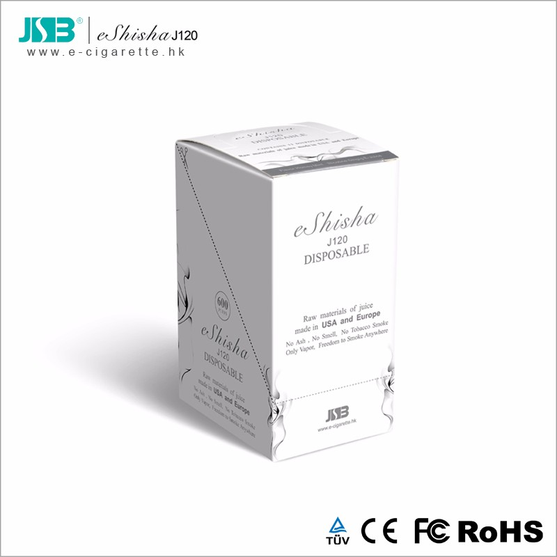 J120 eshisha Disposable Electronic Cigarette 420 mAh Hot Selling E-cigarette