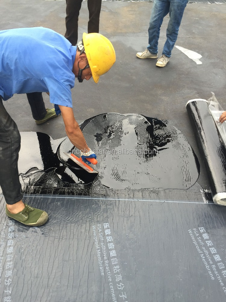 Single Side Self Adhesive Roll Roofing for Waterproofing