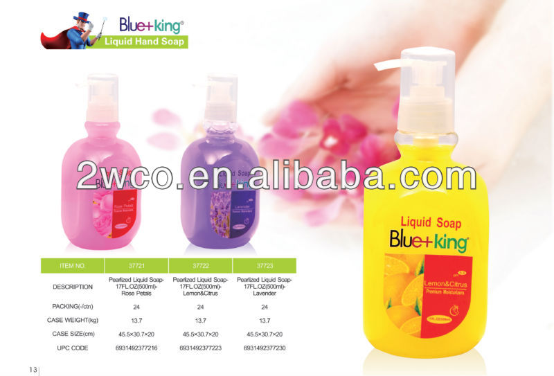 Blue-King Moisturizing Hand Soaps (Pack of 24)
