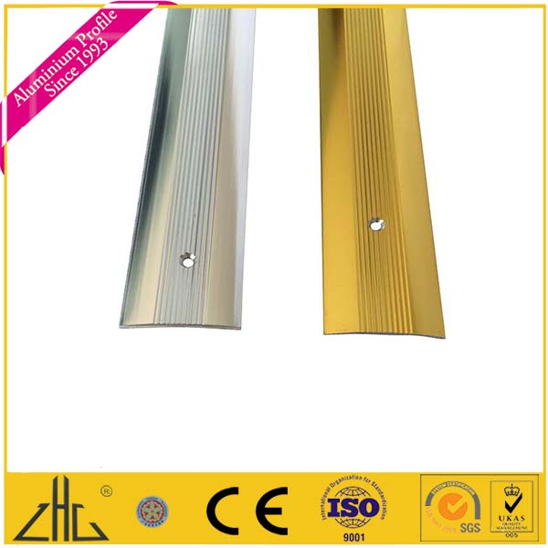 ZHL zhonglian aluminum convexe strip trim,round edge tile trim open,L-shape tile trim