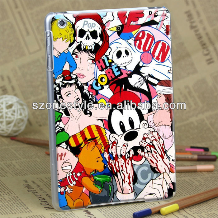 3D carvn hard case for ipad mini 16gb