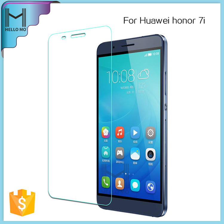 Factory price high quality 2.5D explosion-proof tempered glass film cell phone screen protector for Huawei honor 7i
