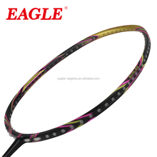 2016 EAGLE brand carbon badminton racket for professional player E432