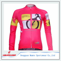 Women's Long Sleeve Cycling Jersey Bicycle Clothing Shirt Jacket Warm Up Breathable Tops