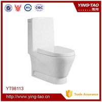 bathroom set toilet bowl ceramic foshan one pc toilet Ceramic washdown sanitary ware toilet