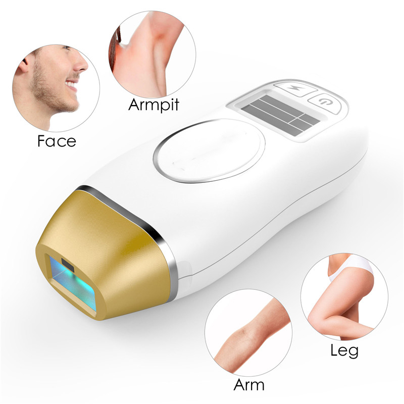 2018 Hot Selling Home Facial Epilator Laser Painless and Safe Hair Remover