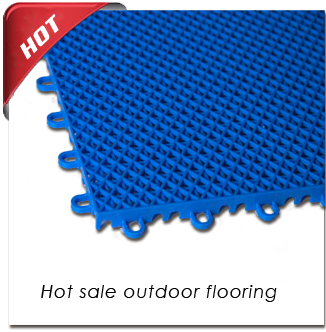 Hot!! Hot Sale Outdoor Interlocking Flooring for Basketball flooring