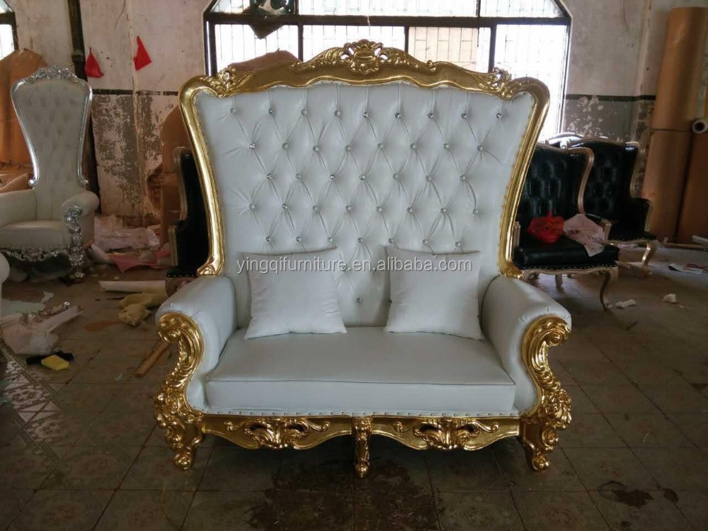 cheap wedding throne king and queen chairs for sale buy wedding throne chairs king and queen. Black Bedroom Furniture Sets. Home Design Ideas
