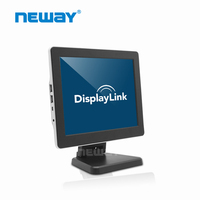High resolution 9.7 inch LCD touch small VGA HDMI input Monitor