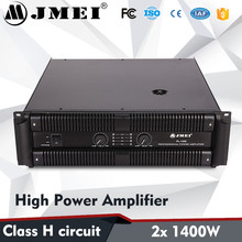 Professional 3U 2x1400W High Power Sound System Soundwave Amplifiers