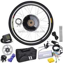 CE EN15194 700c 48v1000w hub motor electric front wheel bike conversion kit