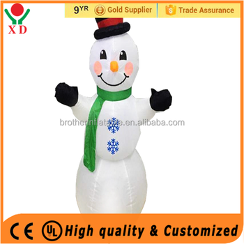 Factory price christmas Custom Outdoor Inflatable Christmas Snowman