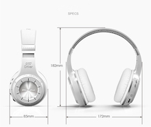 Bluedio HT Powerful Bass Handsfree Noise Reduction Stereo Bluetooth Headphone Connect Two Bluetooth Devices Auriculares