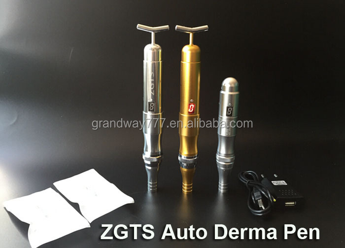 ZGTS Derma Stamp Electric Pen Luxury Electric Micro Needling Pen with Germany Motor