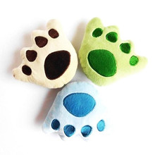 Funny Squeaker Pet Bear Paw Toys Bite Gift for Dog Dog Stuffed Plush Toy
