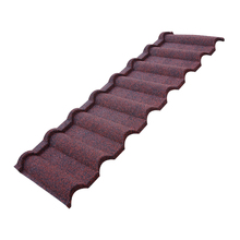 2017 High Quality Building Material Stone Coated Steel Roofing Tile