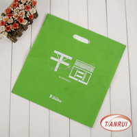 promotional newly design eco-friendly heat seal die cut handle shopping bag with logo