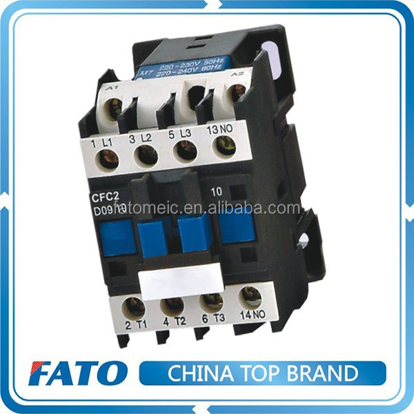 Whole Sale Top 10 2016 CFC2 Magnetic Contactor Price, Types Of AC MAGNETIC Contactor, From Alibaba China