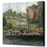 Nice canvas printing boat waterproof paint