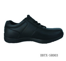 DDTX-SR003 PU Upper anti-slip cook shoes with ortholite insoles