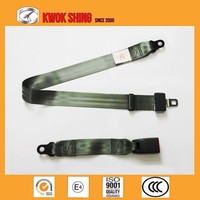 CCC E4 TS16949 Certificated Simple 2 Point Truck Waist Safety Belt
