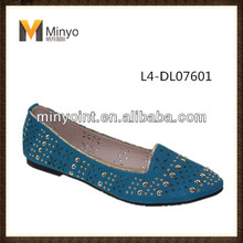 Minyo 2014 Spring Good Workmanship Lady Ballet new style fashion flat slip on shoes