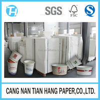 TIAN HANG high quality pe coated cup paper sheets