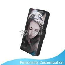 Factory Wholesale Cheap 5 Inch Printable Foldable PU Leather Wallet Sublimation Cell Phone Cover For Samsung Galaxy S6