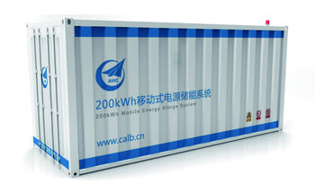 container energy storage system