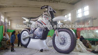 Outdoor New inflatable motorcycle with Sales promotion decoration