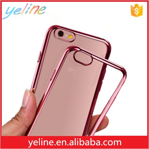 2016 Cheapest price electroplate case for iphone 6 plus