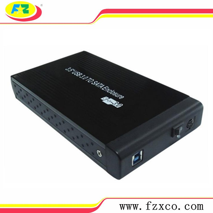 "3.5"" SATA Aluminum USB 3.0 HDD Enclosure"