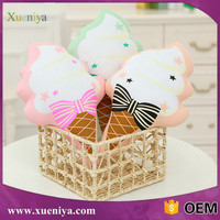 Hot Sale Custom Emoji Pillow Ice Cream Plush Toys Import Toys From China