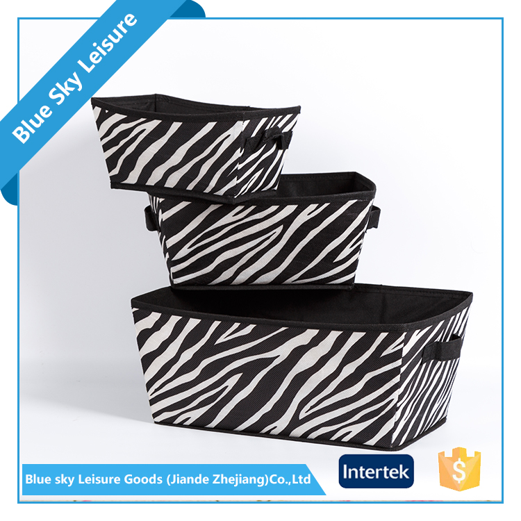 Small Portable PET Nonwoven Fabric Waterproof Foldable Fabric Home Storage Box