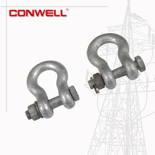 Galvanized alloy steel twin clevis connecting link