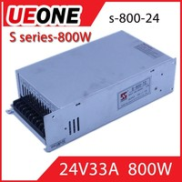 Ueone new product 800w 24v 33a high voltage switching power supply