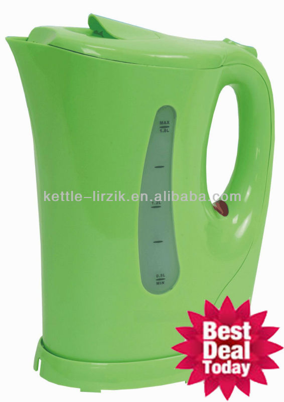 new model!!! hot sale factory price plastic kettle