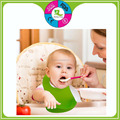 Good quality 100% silicone bibs easy clean silicone infant food catcher