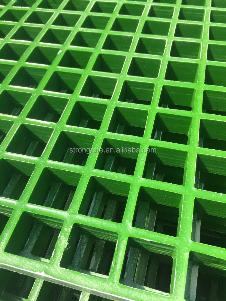 FRP grating with grass green color