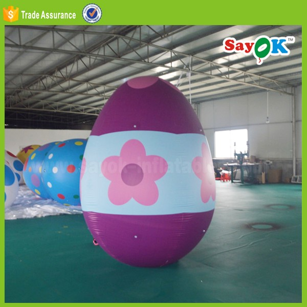 2017 easter giant inflatable easter eggs decoration /inflatable easter egg