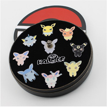 Pokemon souvenir League Badges Metal Medal League Badges