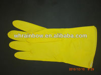Flocklined rubber Household Glove