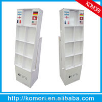 Komori new cardboard display stand for wide book