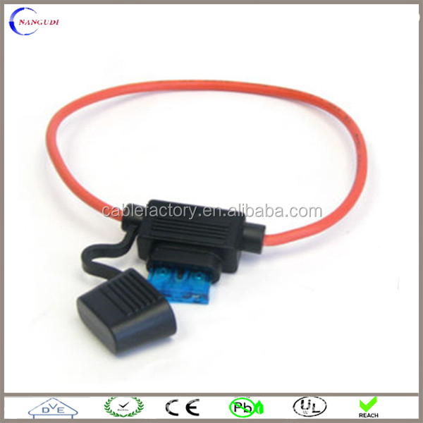 waterproof power socket In-line blade fuse holder