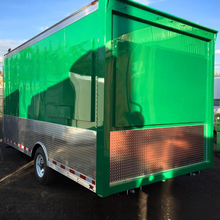 Fast Food Churros Food Cart Trailer With Kitchen