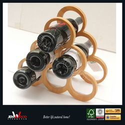 Good Quality Wooden Decorative Wine Bottle Holder