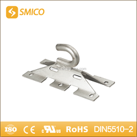 HDG wall mounted anchor Bracket/ metal clamping brackets