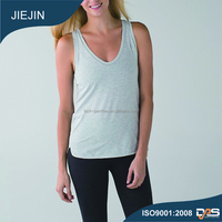 Comfortable sports plain tank top with quick dry, Moisture wicking functions